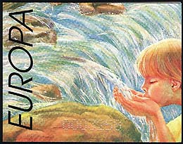 Bulgaria 2001, EUROPE - WATER PROTECTION, BOOKLET