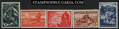 "1941 ""United Bulgaria, affiliation of Macedonia, Thrace and Morava"""